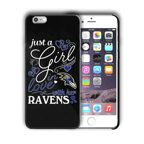 Baltimore Ravens Case for Iphone 8 7 6 11 Pro Plus and other models Cover n4