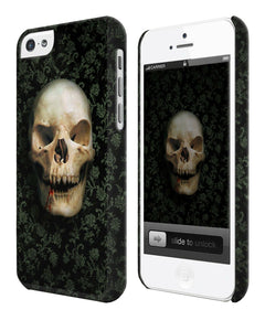 Halloween Skull Evil Horror Iphone 4 4s 5 5s 5c 6 6S 7 + Plus Case Cover ip5
