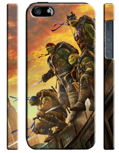 Teenage Mutant Ninja Turtles 2016 iPhone 4S 5S 5c 6S + Plus SE Case Cover 7