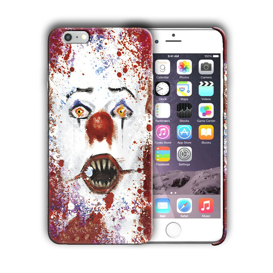 Halloween Pennywise Clown Iphone 4s 5s SE 6s 7 8 X XS Max XR 11 Pro Plus Case 15
