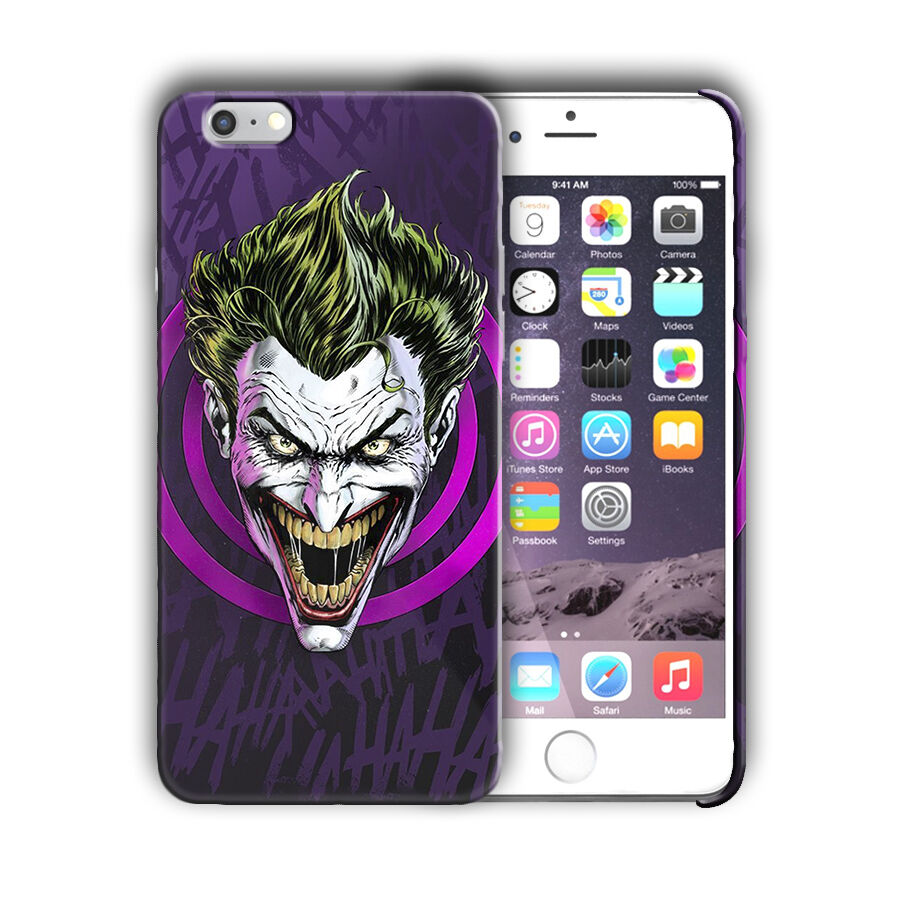 Super Villain Joker Iphone 4s 5 5s SE 6 6s 7 8 X XS Max XR 11 Pro Plus Case n2