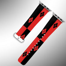 Load image into Gallery viewer, Harley Quinn Apple Watch Band 38 40 42 44 mm Series 1 2 3 4 5 Wrist Strap 4