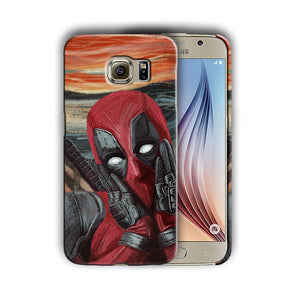 Super Hero Deadpool Samsung Galaxy S4 5 6 7 8 9 10 E Edge Note Plus Case n5