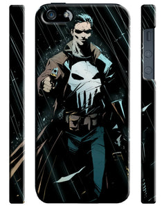 Iphone 4 4s 5 5s 5c 6 6S + Plus Hard Cover Case The Punisher Comics Kids 3