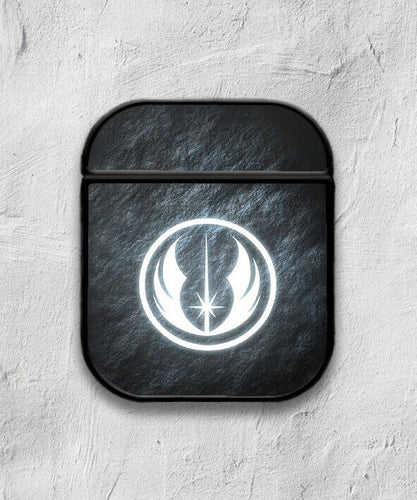 Star Wars Jedi Order Logo case for AirPods 1 or 2 protective cover skin