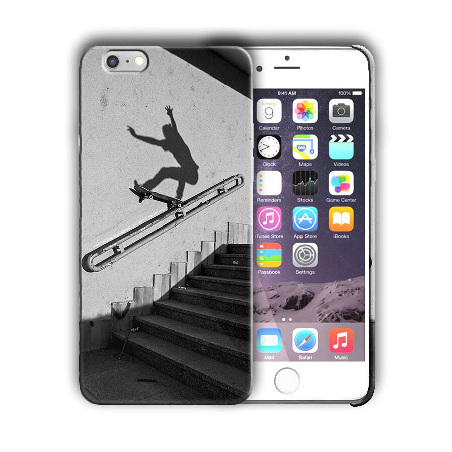 Extreme Sports Skateboarding Iphone 4 4s 5 5s 5c SE 6 6s 7 + Plus Case Cover 08