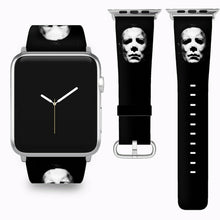 Load image into Gallery viewer, Halloween Michael Myers Apple Watch Band 38 40 42 44 mm Series 1-5 Wrist Strap