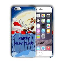Load image into Gallery viewer, Santa Claus Christmas iPhone 5S 5c 6 6S 7 8 X XS Max XR Plus SE Case Cover 8