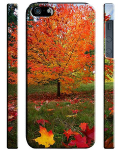 National Symbol Of Canada Maple Leaf iPhone 4S 5S 5c 6S 7 + Plus SE Case Cover 7