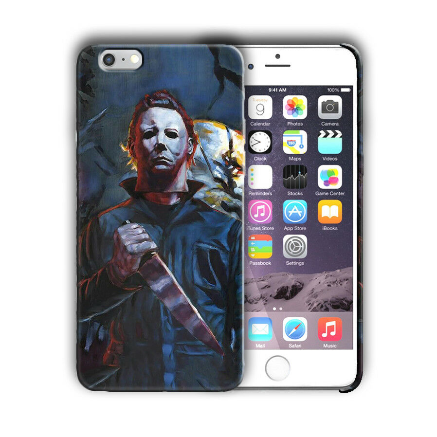 Halloween Michael Myers Iphone 4s 5s SE 6s 7 8 X XS Max XR 11 Pro Plus Case n10