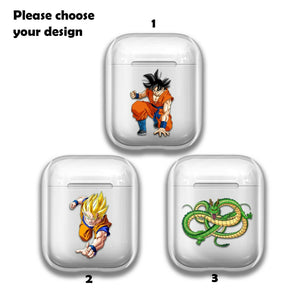 Anime Dragon Ball Silicone Case for AirPods 1 2 3 Pro gel clear cover SN 178