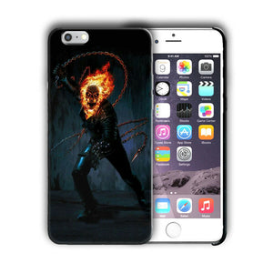 Super Hero Ghost Rider Iphone 4s 5 5s SE 6 7 8 X XS Max XR 11 Pro Plus Case n14