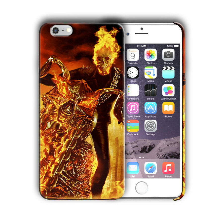 Super Hero Ghost Rider Iphone 4s 5 5s SE 6 7 8 X XS Max XR 11 Pro Plus Case n12