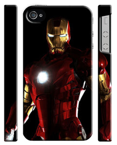 Iphone 4 4s 5 5s 5c SE 6 6S 7 8 X XS Max XR Plus Cover Case Iron Man Hero Comics