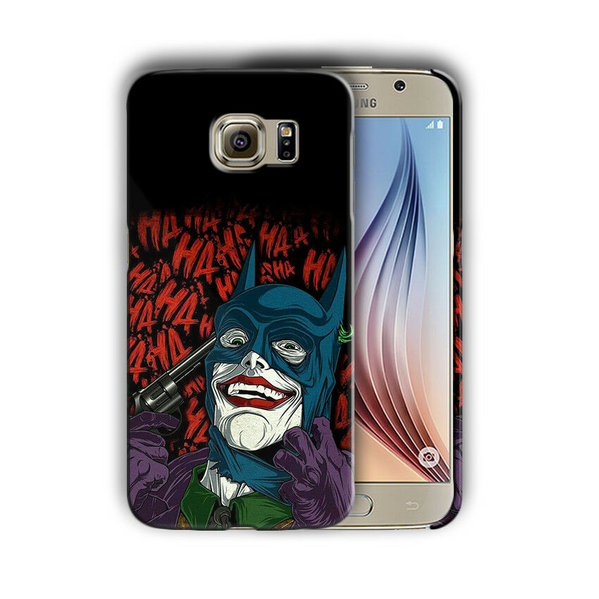 Villain Joker Samsung Galaxy S4 5 6 7 8 9 10 E Edge Note 3 - 10 Plus Case nn7