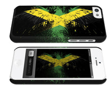 Load image into Gallery viewer, Jamaica National Symbol Eagle Flag iPhone 4 4S 5 5S 5c 6 6S 7 + Plus Case Cover