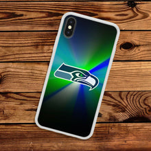 Load image into Gallery viewer, Seattle Seahawks protective TPU case for iphone X XS Max XR 5 6 7 8 plus