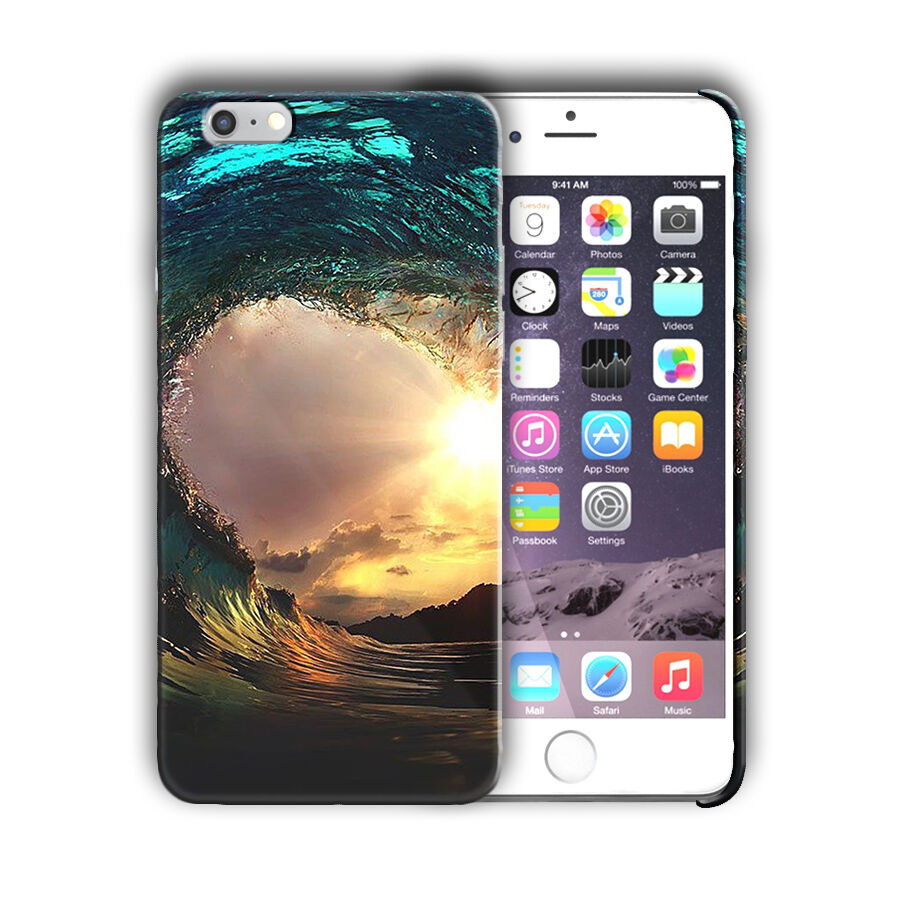 Extreme Sports Surfing Iphone 4s 5 5s 5c SE 6 6s 7 8 X XS Max XR + Plus Case 03