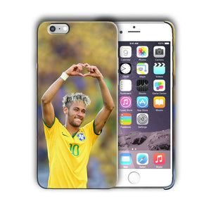Neymar JR Brazil Soccer Iphone 4 4S 5 5s 5c 6 6S 7 8 X XS Max XR Plus SE Case 5