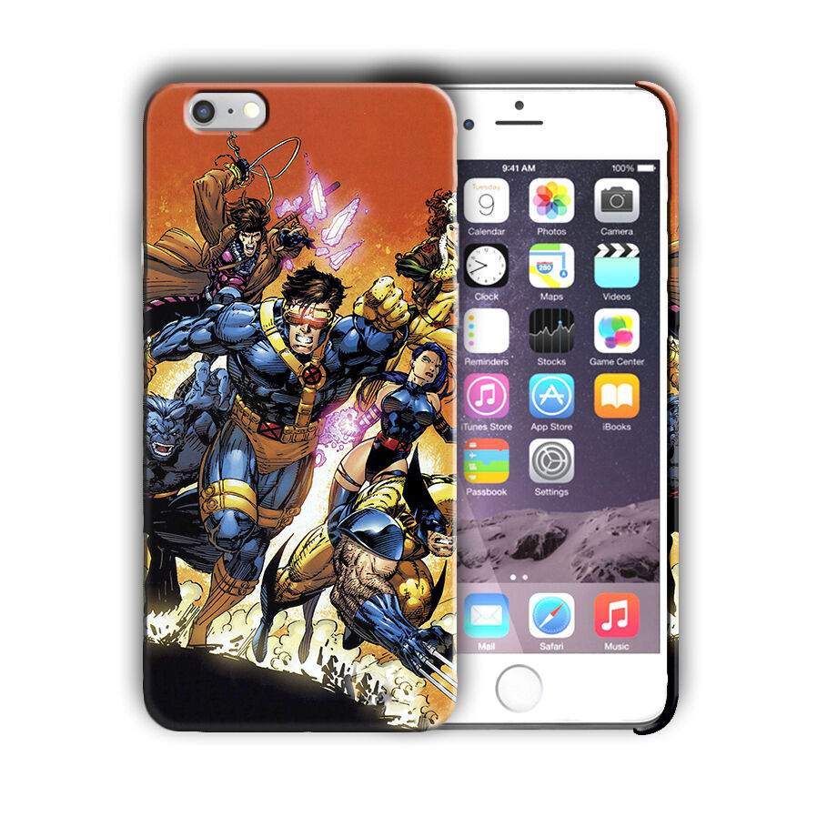 X-Men Superheroes Iphone 4s 5 SE 6 7 8 X XS Max XR 11 Pro Plus Case Cover 8