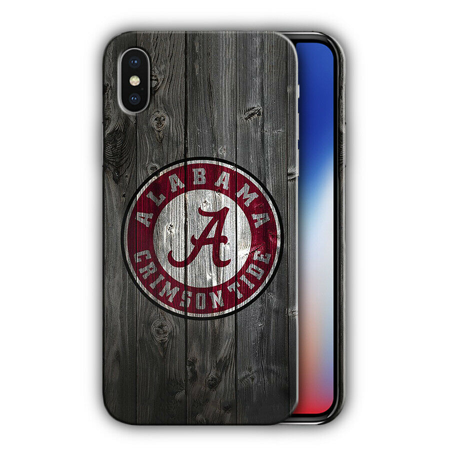 Alabama Crimson Tide Iphone 5s SE 6s 7 8 X XS Max XR 11 Pro Plus Case Cover 5