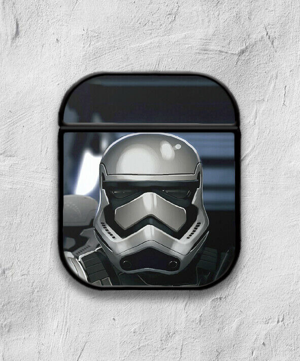 Star Wars Stormtrooper case for AirPods 1 or 2 protective cover skin 02