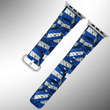 Load image into Gallery viewer, El Salvador Flag Apple Watch Band 38 40 42 44 mm Series 5 1 2 3 4 Wrist Strap 01