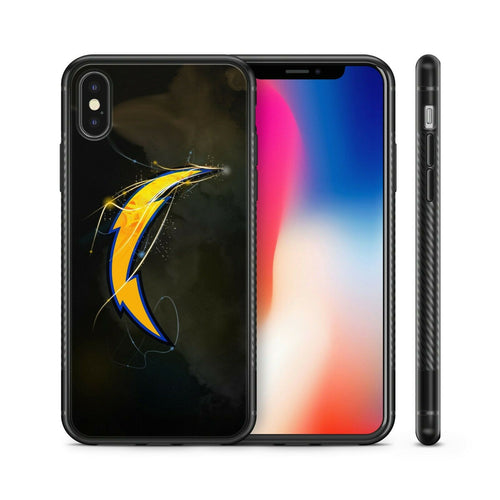 San Diego Chargers protective TPU case for iphone X XS Max XR 7 8 plus 5 6