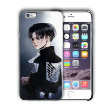 Load image into Gallery viewer, Attack on Titan Levi Ackerman Iphone 4s 5s 5c SE 6s 7 8 X XS Max XR Plus Case 08