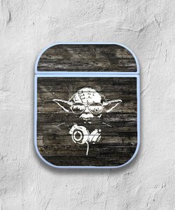Star Wars Yoda case for AirPods 1 2 3 Pro protective cover skin 01