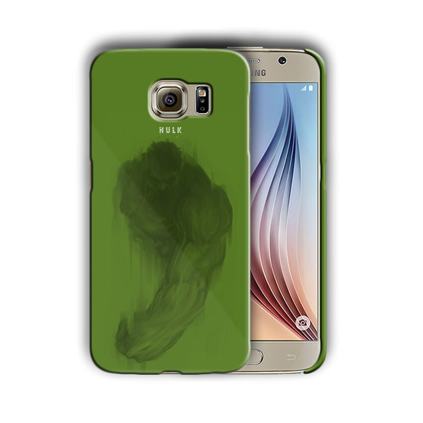 Super Hero Hulk Samsung Galaxy S4 5 6 7 8 9 10 E Edge Note 3 - 10 Plus Case n3
