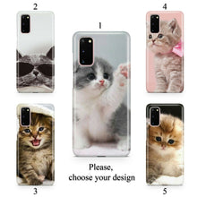 Load image into Gallery viewer, Lovely kittens case for Galaxy s20 s20+ Ultra s10 s10+ s9 s8 s7 S6 Edge SN