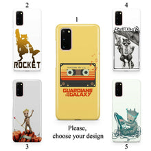 Load image into Gallery viewer, Galaxy Guardians case for Galaxy s20 s20+ Ultra s10 s10+ s9 s8 s7 S6 Edge SN