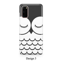 Load image into Gallery viewer, Cartoon animal faces case for Galaxy s20 s20+ Ultra s10 s10+ s9 s8 s7 S6 Edge SN