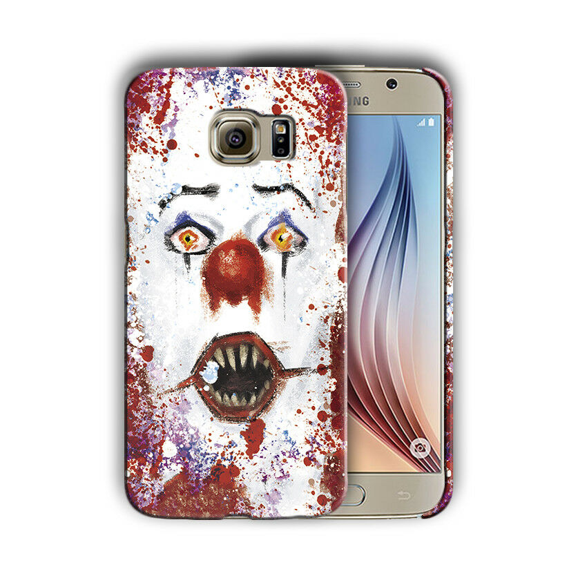Halloween Pennywise Samsung Galaxy S5 6 7 8 9 10 E Edge Note 3 -10 Plus Case n15