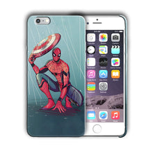 Load image into Gallery viewer, Super Hero Spider-Man Iphone 4s 5 SE 6 7 8 X XS Max XR 11 Pro Plus Case n14