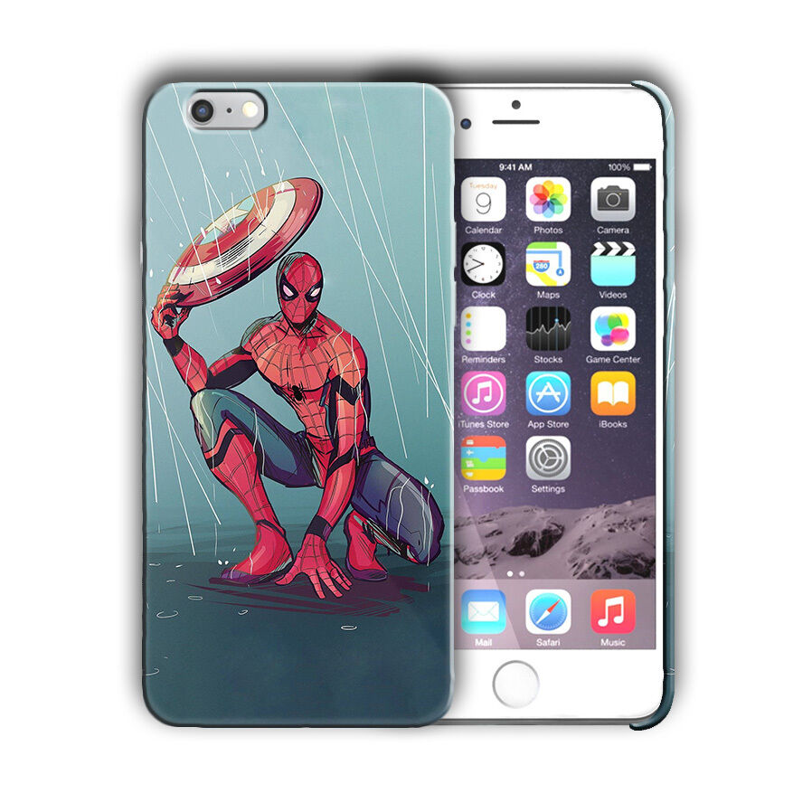 Super Hero Spider-Man Iphone 4s 5 SE 6 7 8 X XS Max XR 11 Pro Plus Case n14