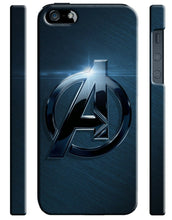 Load image into Gallery viewer, Avengers Logo Iphone 4s 5s 5c 6 6S 7 8 X XS Max XR + Plus Cover Case