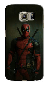 Deadpool Hero Samsung Galaxy S4 5 6 7 8 9 10 E Edge Note 3 - 10 Plus Case 33