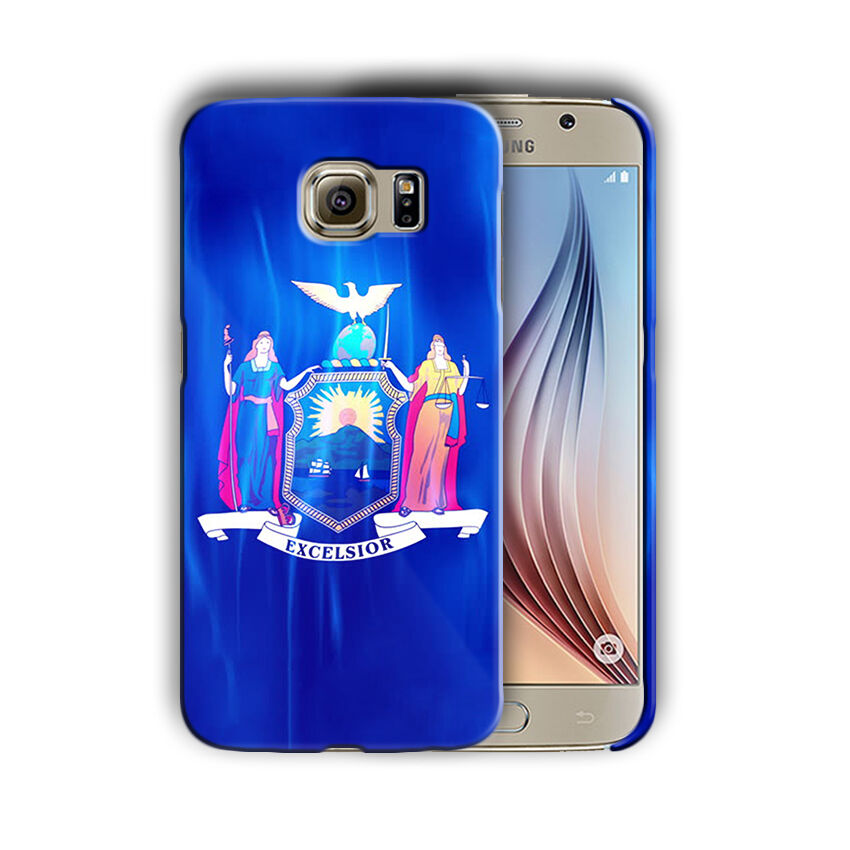 New York Symbols Flag Samsung Galaxy S4 S5 S6 S7 Edge Note 3 4 5 Plus Case 01