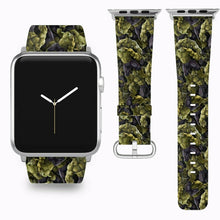 Load image into Gallery viewer, Hulk Apple Watch Band 38 40 42 44 mm Series 5 1 2 3 4 Fabric Leather Strap 03