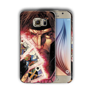 X-Men Gambit Samsung Galaxy S4 5 6 7 8 9 10 E Edge Note 3 - 10 Plus Case 3