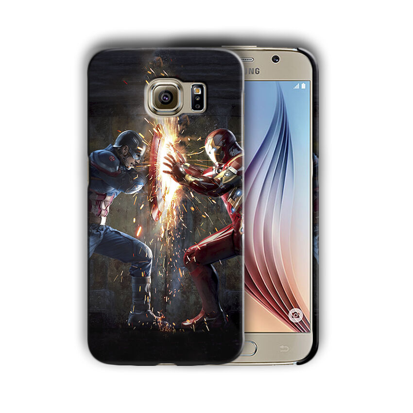 Captain America Samsung Galaxy S4 5 6 7 8 9 10 E Edge Note 3 - 10 Plus Case n3