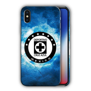 Cruz Azul FC Iphone 4S 5s 6S 7 8 X XS Max XR 11 Pro Plus SE Case Cover Logo 01