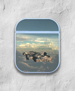 Star Wars Falcon case for AirPods 1 or 2 protective cover skin 01