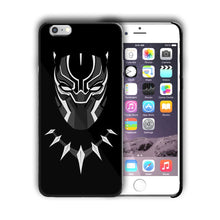 Load image into Gallery viewer, Super Hero Black Panther Iphone 4 4s 5 5s 5c SE 6s 7 8 X XS Max XR Plus Case n5
