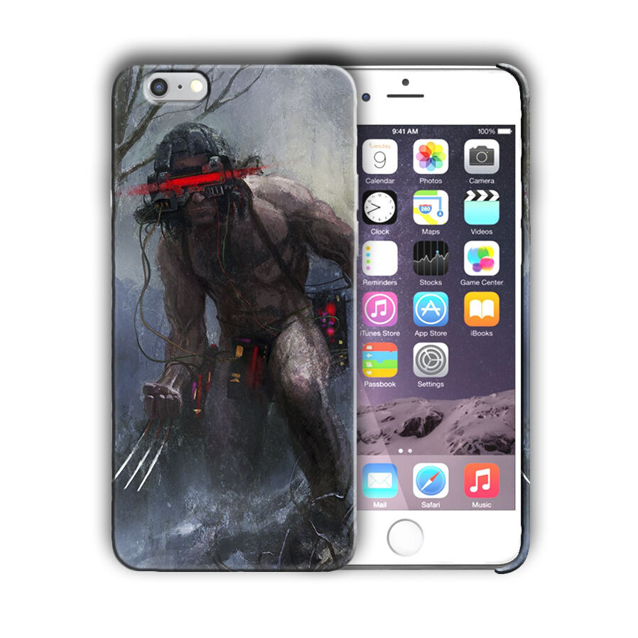 X-Men Wolverine Iphone 4s 5 SE 6 7 8 X XS Max XR 11 Pro Plus Case Cover 9