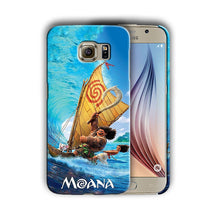 Load image into Gallery viewer, Moana Maui Pua Sumsung Galaxy S4 5 6 7 S8 Edge Note 3 4 5 8 Plus Case Cover 7
