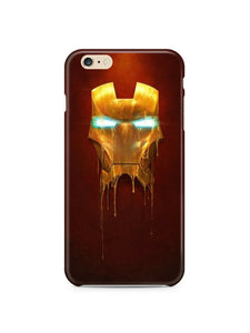 Iphone 4 4s 5 5s 5c 6 6S + Plus Cover Case Iron Man Hero Comics Marvel
