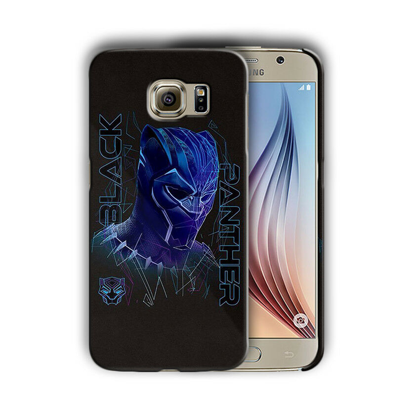 Black Panther Samsung Galaxy S4 5 6 7 8 9 10 E Edge Note 3 - 10 Plus Case nn5